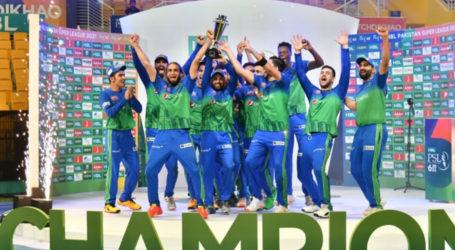 Multan Sultans beats Peshawar Zalmi to win maiden PSL title