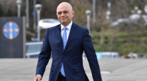 Sajid Javid previously served as home secretary and as chancellor. Source: The Sun