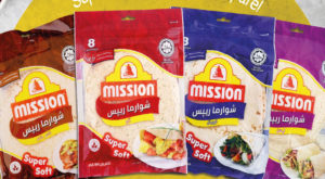 Samrah Enterprises has introduced Shawarma Wraps of Missions Foods to Pakistan. Source: Supplied.