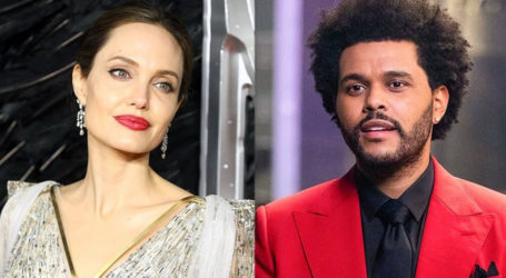 Is Something Cooking Between Angelina Jolie and The Weeknd?