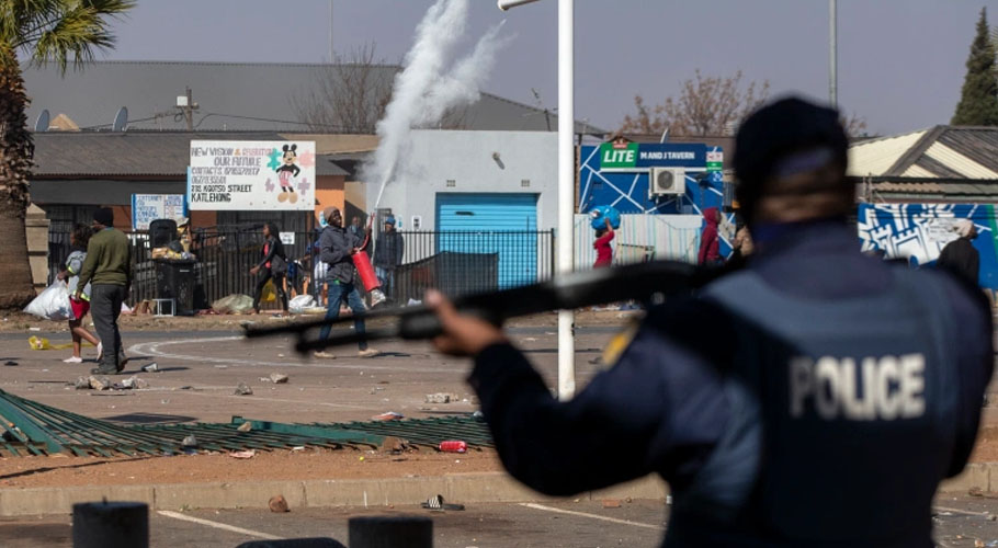 The South African Police Service (SAPS) said late on Tuesday that as many as 72 people had lost their lives