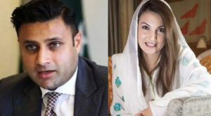 Former Special Assistant to Prime Minister Syed Zulfi Bukhari has won the first round of defamation suit against Reham Khan, former wife of Prime Minister Imran Khan.
