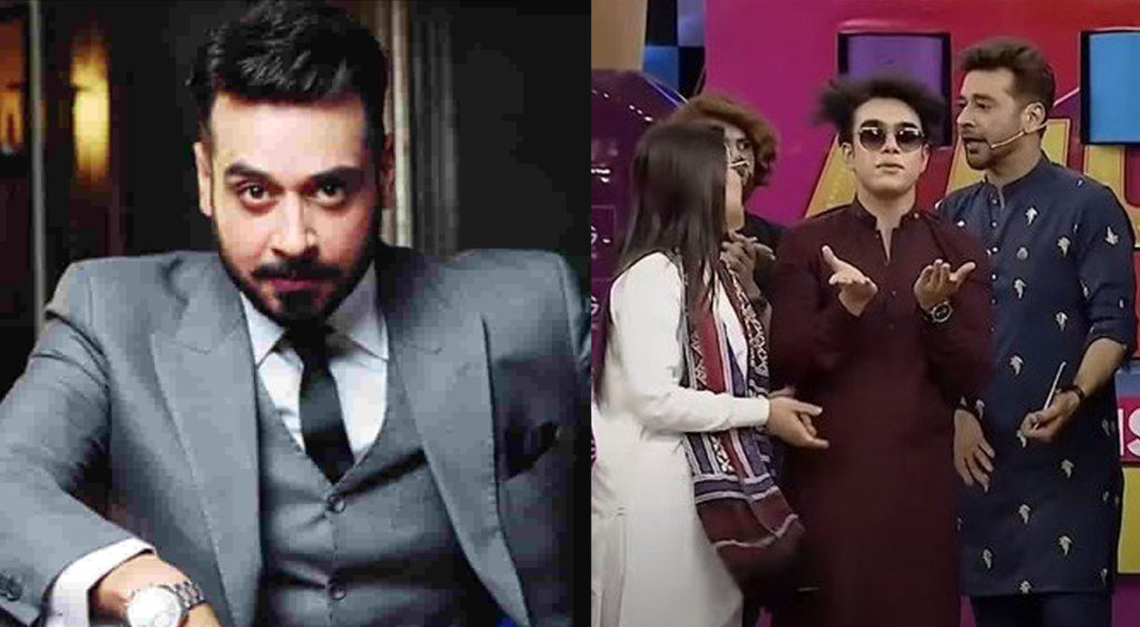 Faysal Quraishi, who became a top trend on Twitter after a video from his game show went viral, has just recreated the viral scene.