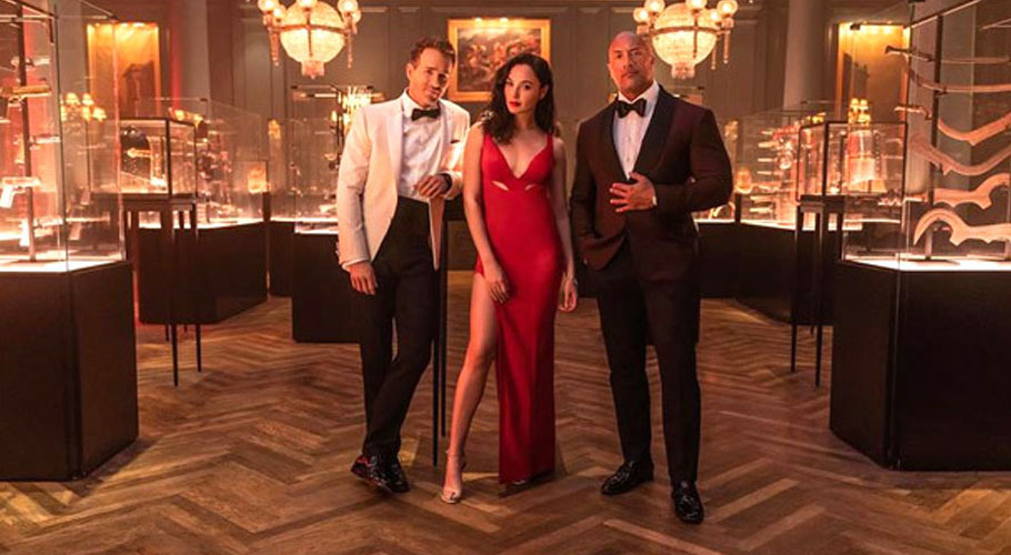 Hollywood superstar Dwayne Johnson has his upcoming Netflix action movie, Red Noticewill premiere in November which will also feature Ryan Reynolds and Gal Gadot.