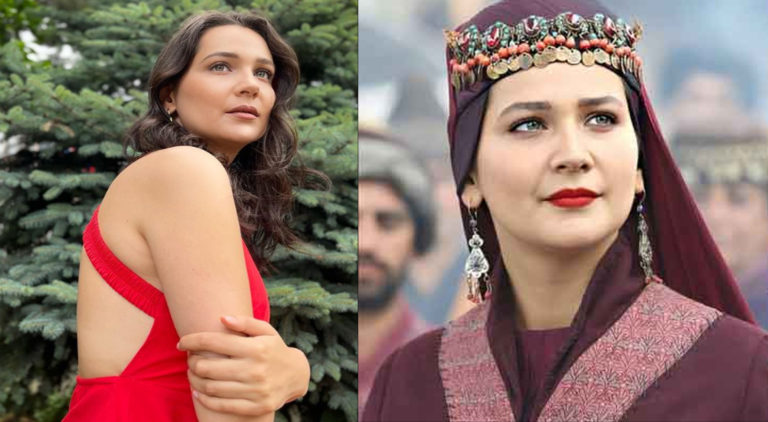 Gulsim Ali starred as Aslihan Hatun in drama series 'Dirilis:Ertugrul'.