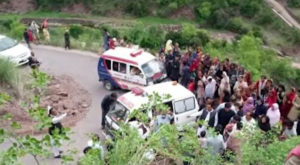 The bus was on its way to Kamala from the Barigogan area of Kohistan district of Hazara division two years ago.