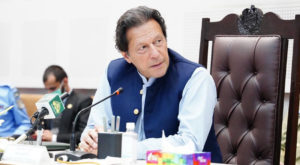 Prime Minister Imran Khan chairs a meeting of the federal capital. Source: FILE.