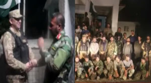 Pakistan Army has handed a group of Afghan soldiers. Source: FILE.