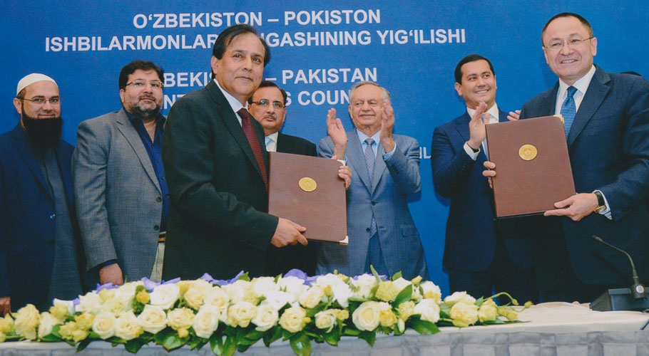FPCCI chief informed that the MoUs signed with Uzbek businesses and corporates will translate into billions of rupees of economic activity and will be a win-win for both sides.