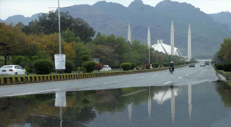 Many parts of the city experienced moderate to heavy rainfall.
