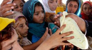 A significant percentage of Pakistanis face food insecurity