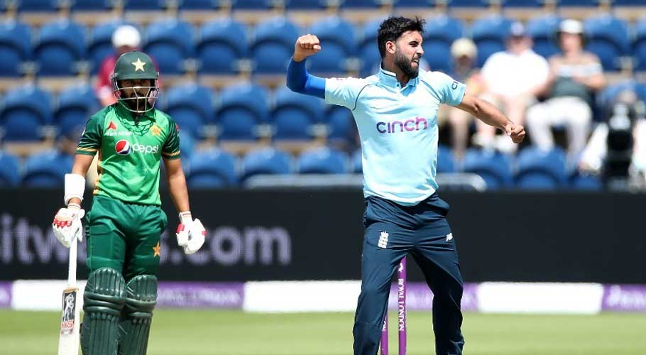 England bundled out Pakistan for 195 runs off 41 overs