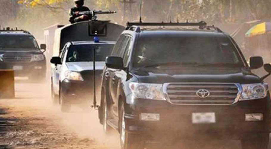 The security detail of Chairman Senate Sadiq Sanjrani will remain intact.