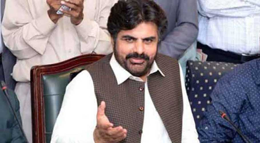 Local Government Minister Syed Nasir Hussain Shah. File photo