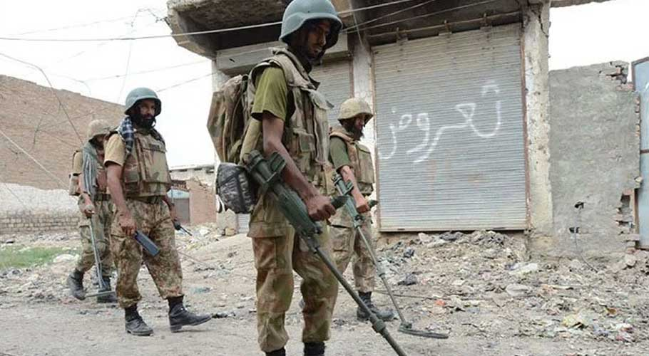 wo security personnel martyred on July 13 during IBO.