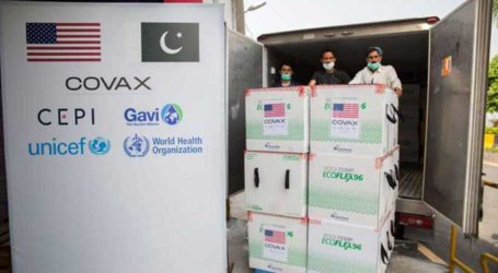 Pakistan receives 2.5m doses of Moderna vaccine from US