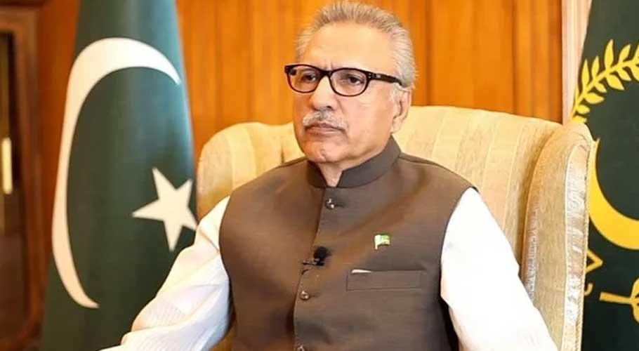 President of Pakistan Dr Arif Alvi. Photo: File