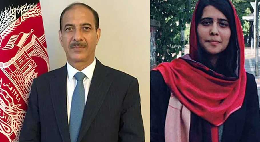 Afghan envoy apologised for sharing his daughter's, Selsela Alikhil, picture