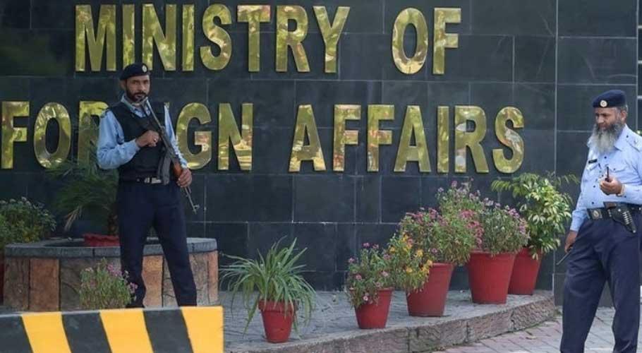 Pakistan's ambassador to Kabul Mansoor Ahmad Khan arrived in Islamabad