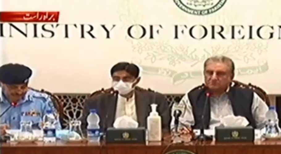 FM Qureshi says PM Imran is personally monitoring the matter