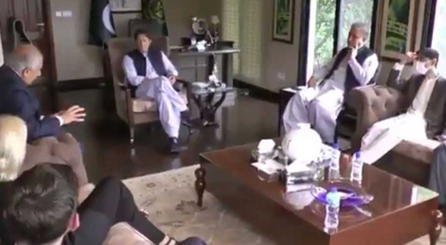 The prime minister expressed his view during a meeting with US Special Envoy