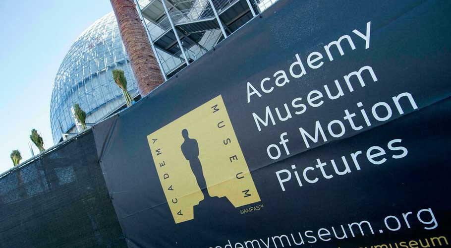 The Academy Museum was long delayed by construction. (Source: AFP)