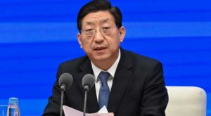 Zeng Yixin speaks at a press conference in Beijing. (Source: CNN)