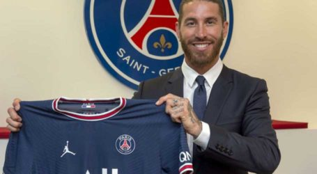Sergio Ramos joins PSG on two-year contract
