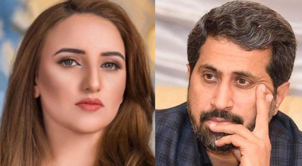 TikToker Hareem Shah, who sparked controversy over her marriage with PPP MPA, has befittingly responded to two political leaders who are non-other than Fayyazul Hasan Chohan and Farooq Sattar.