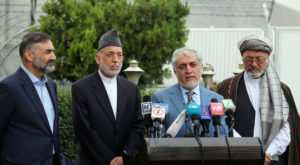 Dr Abdullah, Chair of the HCNR left for Qatar to engage in peace talks with Taliban. Source: Twitter