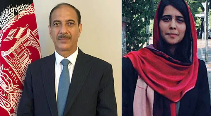 The daughter of Afghanistan Ambassador to Pakistan was kidnapped and assaulted. Source: Twitter