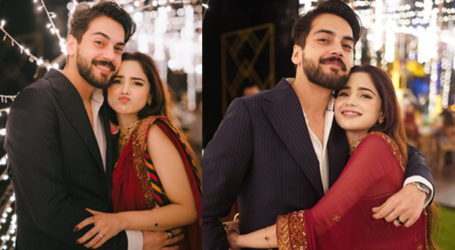 Singer Aima Baig is now engaged to Shahbaz Shigri