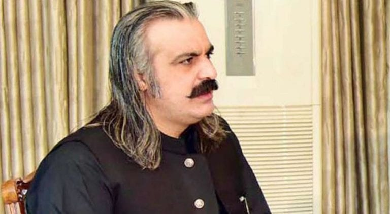 ederal Minister for Kashmir Affairs and Gilgit-Baltistan Ali Amin Gandapur.