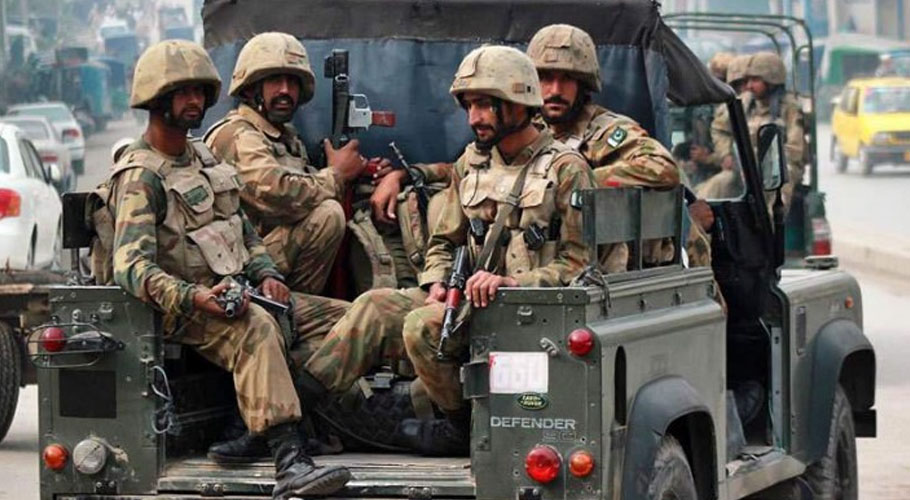 The terrorists targeted security forces using an IED in Khuda Bux Bazar near Pasni. Source:: FILE