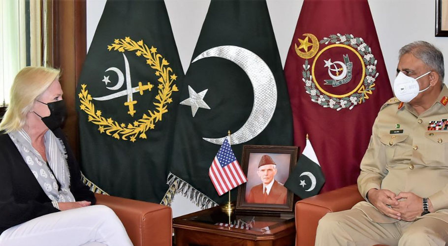 US Charge d' Affairs to Pakistan called on Chief of Army Staff General Qamar Javed Bajwa. Source: ISPR