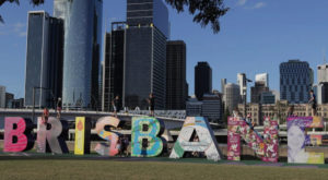 Brisbane becomes the third Australian city to host the Olympics: Source: AFP