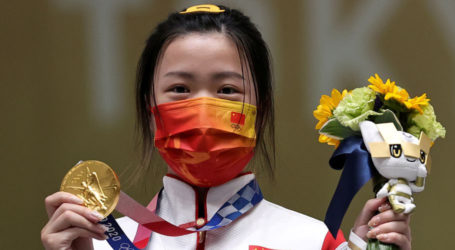 Chinese shooter wins first gold medal of Tokyo Olympics