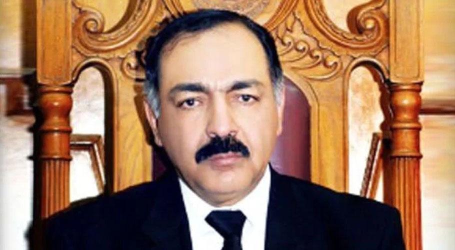Governor Balochistan retired Justice Amanullah Khan Yasinzai. Source: FILE.