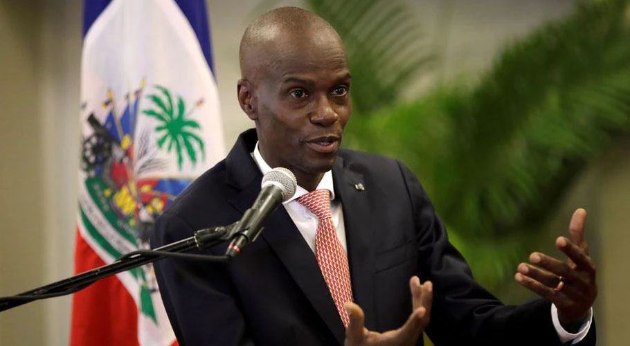 Haitian President Jovenel Moise was shot dead by in his private residence. Source: Reuters