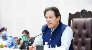 The prime minister was chairing a review meeting on the historic initiative in health sector.