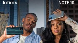 Smartphone brand Infinix launched NOTE 10. Source: PR/Online.