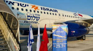 Israel and Morocco agreed to upgrade diplomatic ties and relaunch direct flights. Source: Twitter