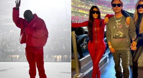 Kim Kardashian joins Kanye West for unveiling of album 'Donda'