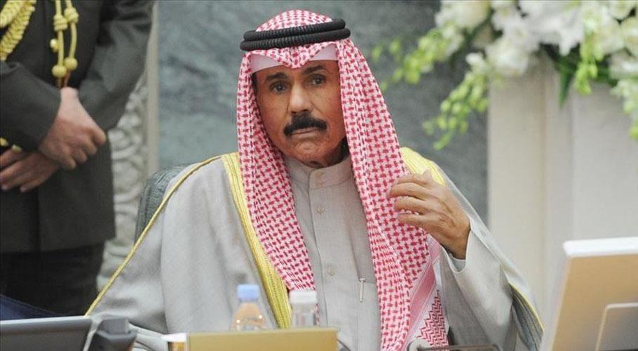 Emir of Kuwait sent a letter to President Arif Alvi. Source: Anadolu