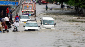 Karachi was among the most affected cities of Pakistan in the 2020 monsoon season. Source: Xinhua