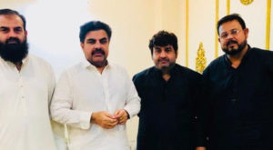 Sindh Minister Information & Local Government Syed Nasir Hussain Shah met a delegation led by President NKATI Faisal Moiz Khan.. Source: PR