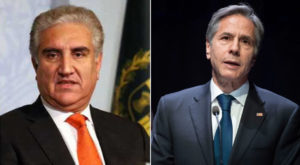 Foreign Minister Shah Mahmood Qureshi had a telephonic conversation with the US Secretary of State Antony J. Blinken