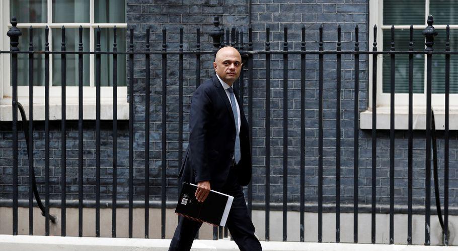 Sajid Javid has been health secretary for three weeks. Source: Reuters