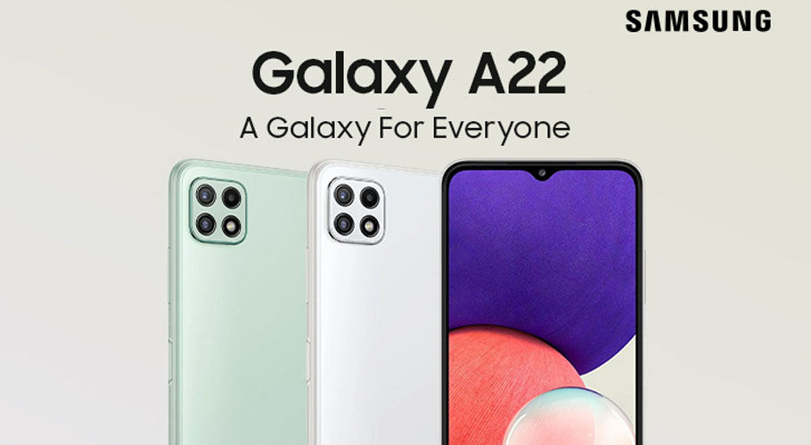 The new Samsung Galaxy A22 empowers users to experience awesome innovation at an awesome price.