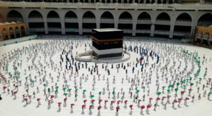 This year only 60,000 people performed Hajj from within Saudi Arabia. Source: Al Jazeera.